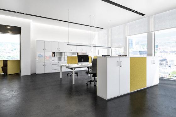 Allvia Combination cabinets by Assmann Büromöbel