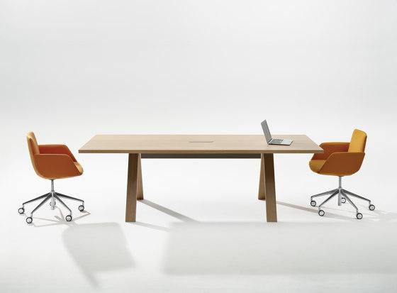 Cross Table by Arper