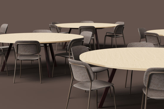 Big Lite 74 Modular Table System by De Vorm