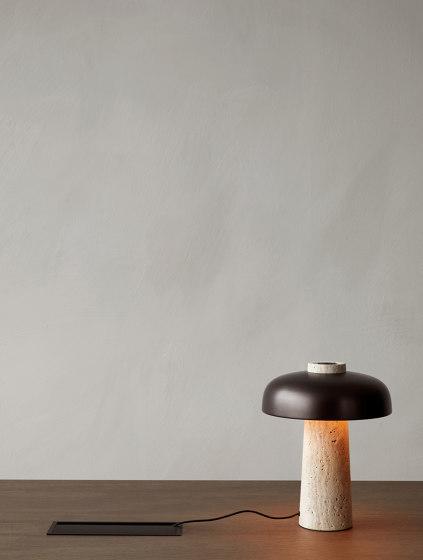 Snaregade Dining Table   Oval Black/ Charcoal de MENU