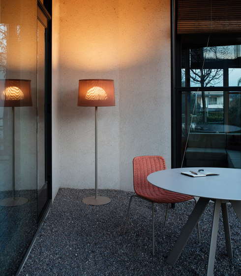 """""""Oh"""" lamp Lampe de table tissée de Expormim"""