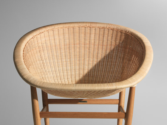 Basket club chair di KETTAL