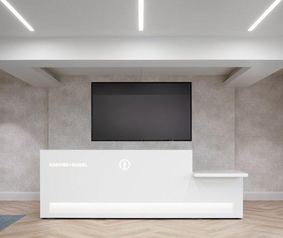 Blok Reception Desk Configuration 9 de Isomi