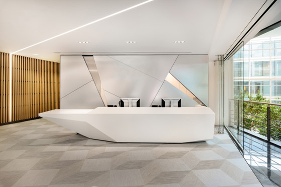 Fold Reception Desk Configuration 8 by Isomi