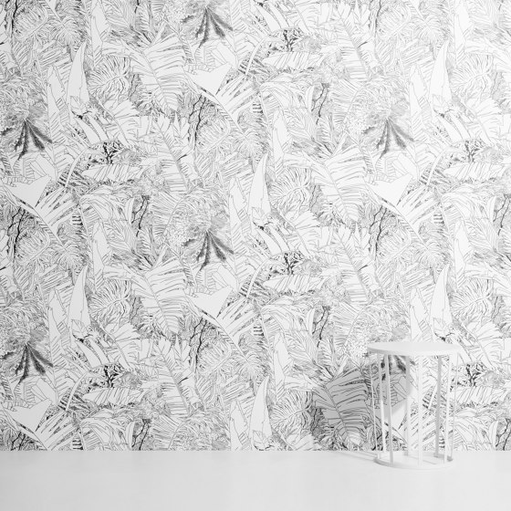 Jungle | Copper wallpaper by Petite Friture