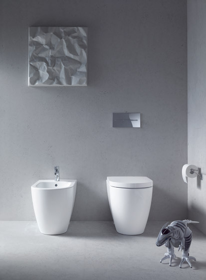 L-Cube - Cabinet base by DURAVIT