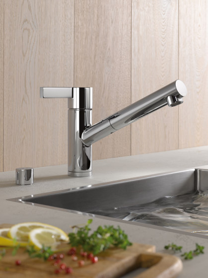 eno - Single-lever mixer Pull-out by Dornbracht
