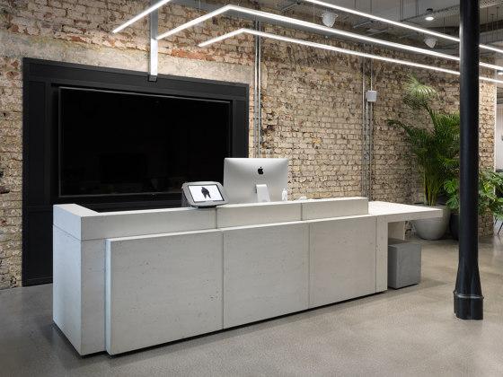 Volume Reception Desk Configuration 10 von Isomi