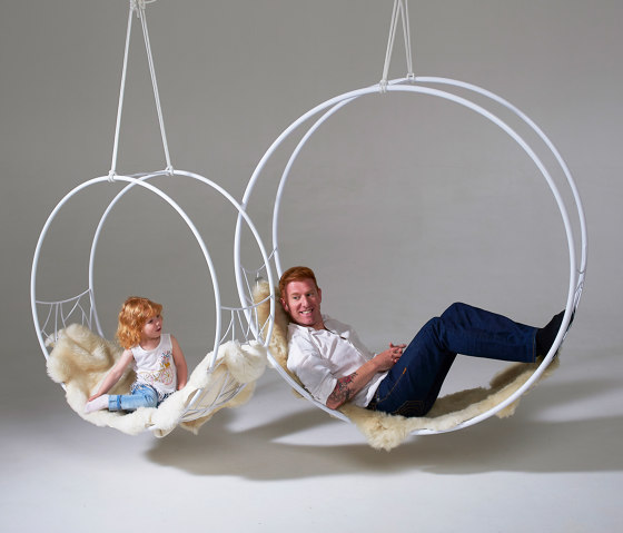 Wheel Hanging Swing Chair - Twig by Studio Stirling