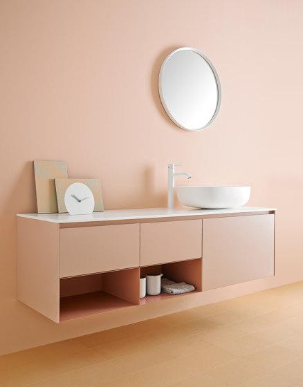 Ovalo Corian® Top Mounted washbasin by Inbani