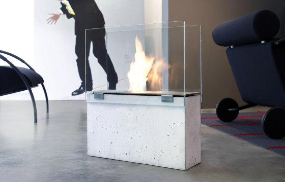 Muro Ethanol Fireplace by conmoto