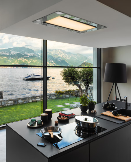 Mythos Hood FMY 906 BK Glass Black by Franke Kitchen Systems