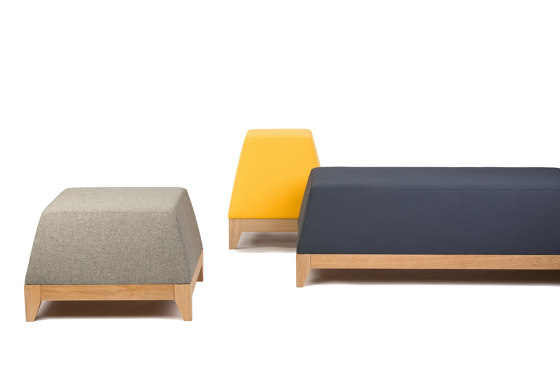 Oblique OB1 pouf by Bogaerts Label