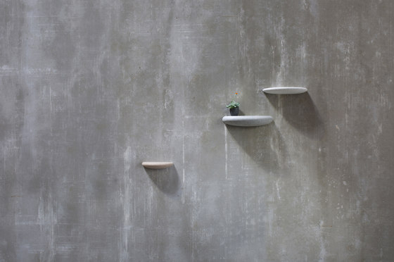 Stone 3 wall display wood by Bogaerts Label