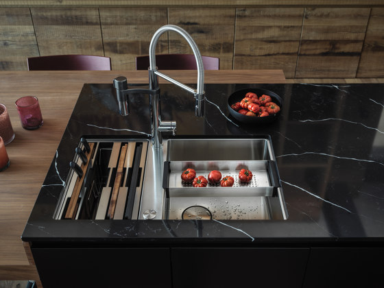 Box Sink BXX 110-40/ BXX 210-40 Stainless Steel by Franke Kitchen Systems