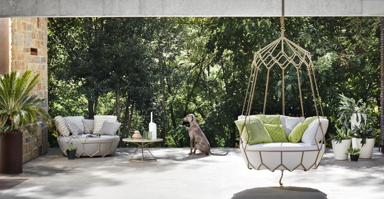 Gravity 9881 swing-sofa by ROBERTI outdoor pleasure