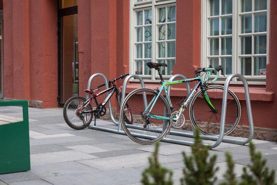 Berg bicycle rack by Vestre
