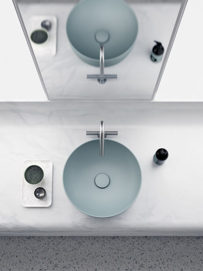 Sand 70 | Washbasin by GSI Ceramica