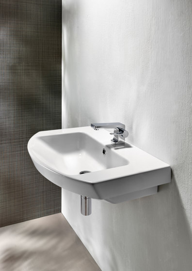 Norm h85 | Washbasin by GSI Ceramica