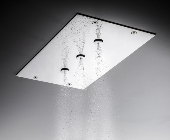 Modular F2815 | Ceiling mounted stainless steel showerhead with mist sprays by Fima Carlo Frattini