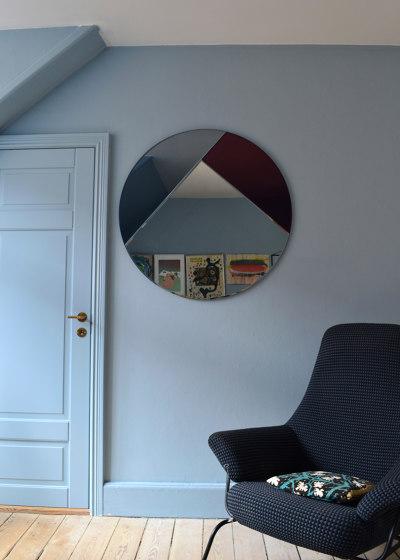 Nouveau 65 silver/emerald/burgundy de Reflections Copenhagen
