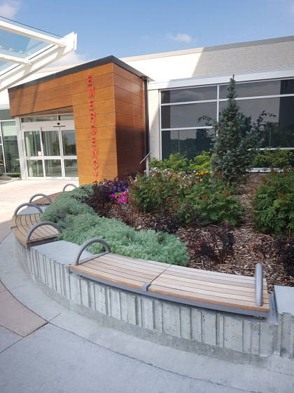 Ogden Bench by Maglin Site Furniture