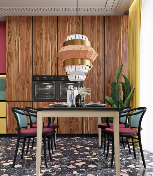 Comb Floor Lamp by Mambo Unlimited Ideas
