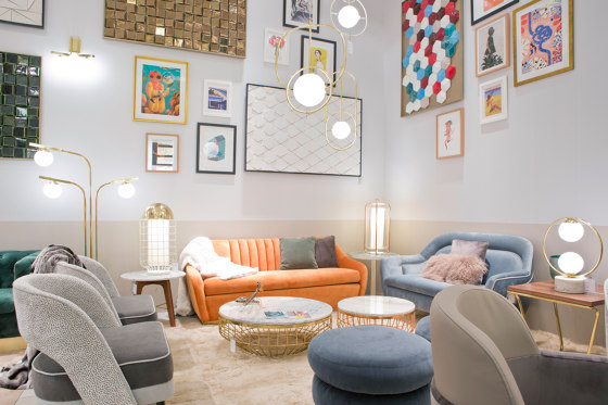 Gia Round couch de Mambo Unlimited Ideas