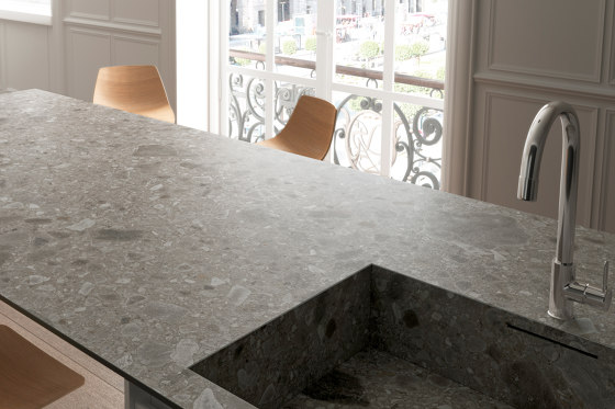 Iseo iTOP Gris Bush-hammered de INALCO