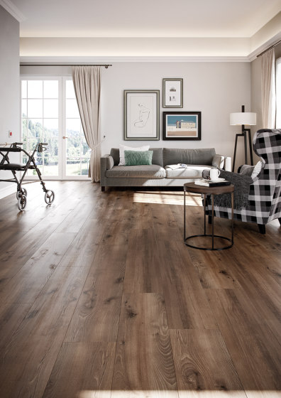 wineo PURline® Planks | Village Oak Brown by Mats Inc.