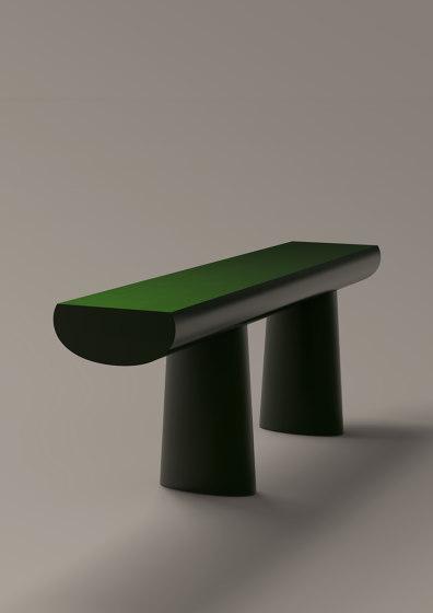 Urushi Green Table by Karakter
