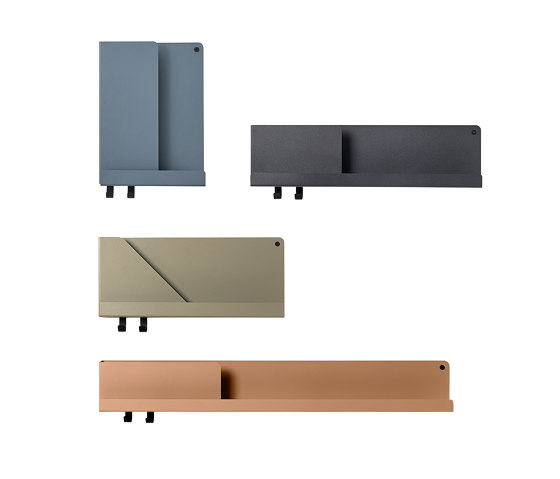 "Folded Shelves | 96 X 13 CM / 37.75 X 5"" by Muuto"