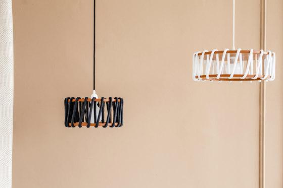 Macaron Floor Lamp, black by EMKO