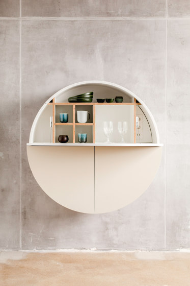 Pill  Multifunctional cabinet, black-blue by EMKO