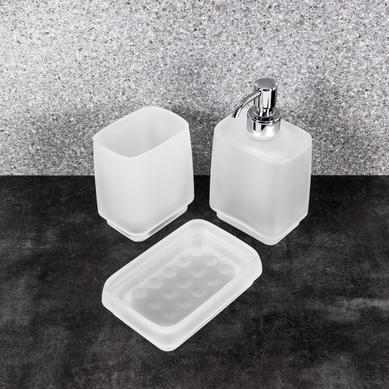 Paper holder with cover by COLOMBO DESIGN