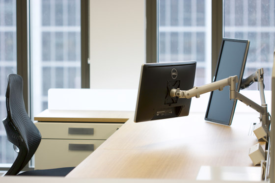 Interactive | 618mm Dynamic Arm Single Monitor Desk Mount AWMS-DB by Atdec
