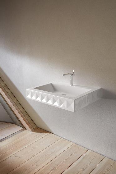 BetteLoft Ornament Wall mounted washbasin by Bette