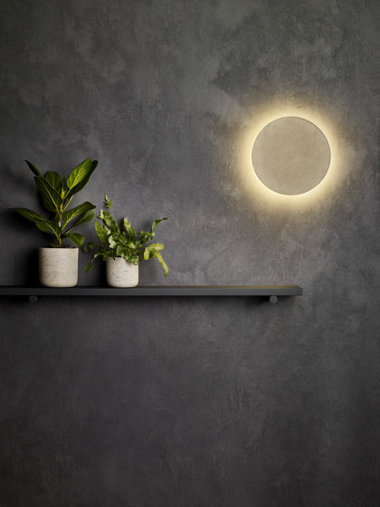 Eclipse Square 300 LED | Plaster by Astro Lighting