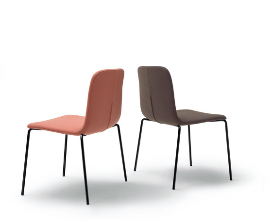 Brianza Chair - Version without armrests by ARFLEX