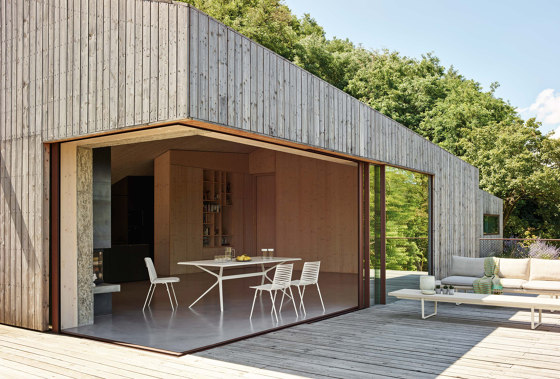 New Wood Plan Gartenbank von Fast