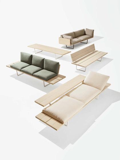 New Wood Plan Chaise-longue de Fast