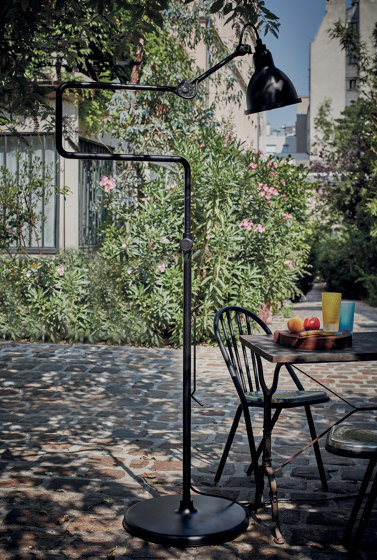 LAMPE GRAS | XL OUTDOOR SEA - N°411 | black satin von DCW éditions