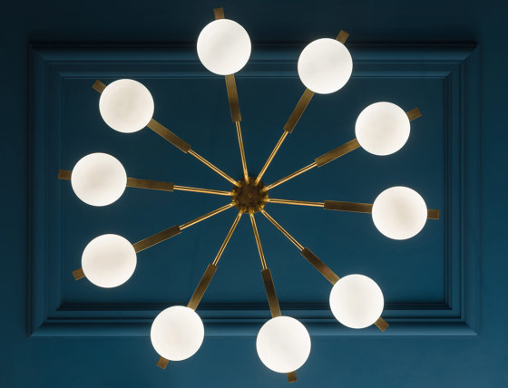Globe Suspension Lamp by Mambo Unlimited Ideas