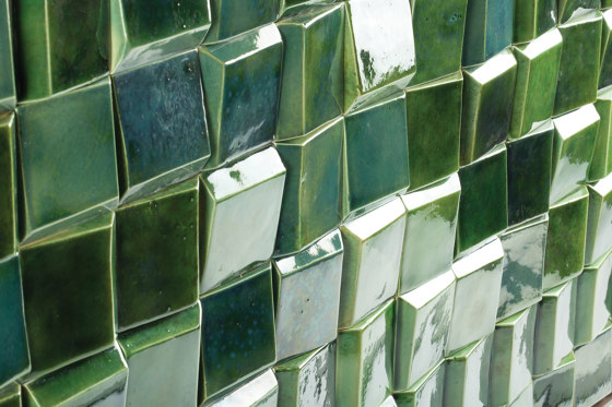 Douro Tile Emerald by Mambo Unlimited Ideas