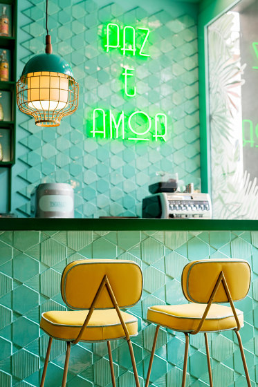 Tua Tile Emerald by Mambo Unlimited Ideas