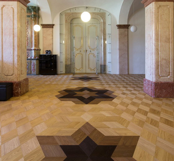 FLOORs Selection Rhombus Larice bianco di Admonter Holzindustrie AG