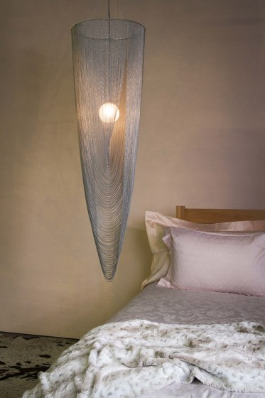 Spiral Pod 400 single Pendant Lamp by Willowlamp