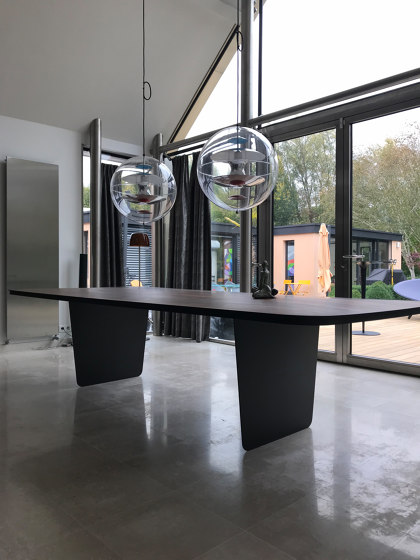 Carbon Claro Table by Tokio. Furniture & Lighting