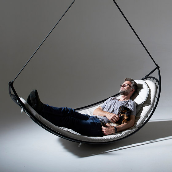 Melon Hammock Hanging Chair Swing Seat by Studio Stirling