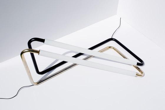 Light Object 001 - LED light, black finish by Naama Hofman Light Objects
